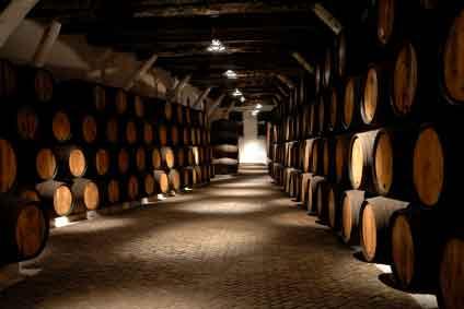 Wine Cellar at Walla Walla Winery Pic